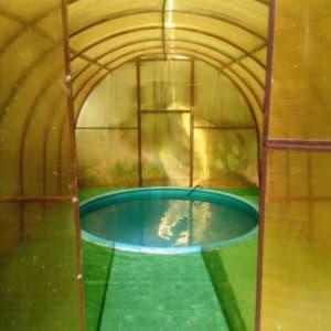 Производство бассейнов из полипропилена