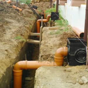 Дренаж участка, ливневая канализация
