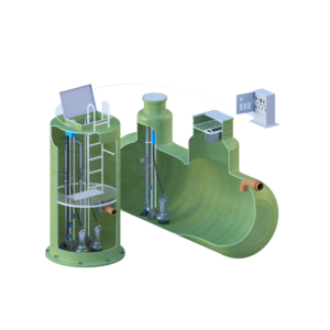 Устройство канализационных насосных станций
