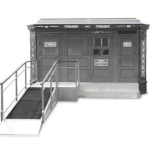 Туалетный модуль-павильон