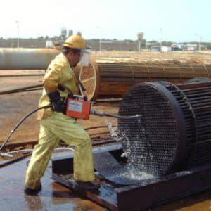 Промывка промышленной канализации