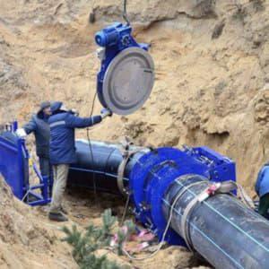 Ремонт трубопровода в Перми
