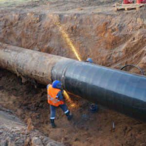 ремонт трубопровода цена