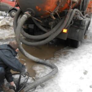 Устранение засоров канализации в Перми
